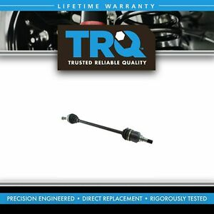 Trq New Complete Front Cv Axle Shaft Assembly Passenger Side For Toyota Prius