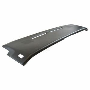 Black Molded Dash Pad Cover For 82 83 Chevrolet Camaro New