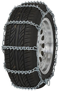 195 65 15 195 65r15 Tire Chains V bar Link Snow Traction Passenger Vehicle Car