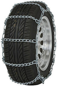 185 65 14 185 65r14 Tire Chains Regular Link Snow Traction Passenger Car