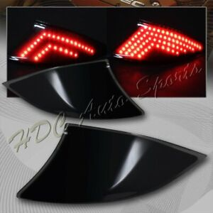 For 2014 2016 Lexus Is250 Is350 Is f Smd Led Rear Smoke Bumper Stop Brake Lights