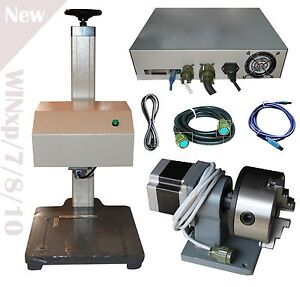 Automatic Pneumatic Marking Engraver Machine With Rotary Tool Metal
