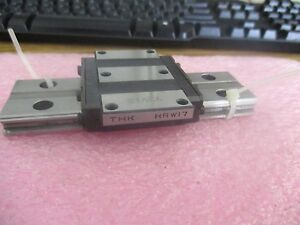 Thk Model Hrw17 Linear Bearing Block On Approximately 5 Rail