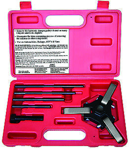 Sp Tools Chrysler And Gm Harmonic Dampner Pulley Set