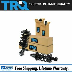 Trq Front Rear Strut Spring Assemblies Lh Rh Kit Set Of 4 For Honda Element Suv