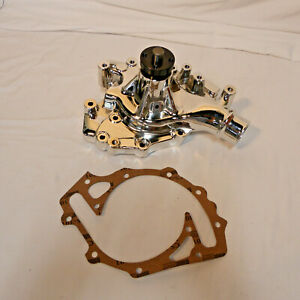 Ford Big Block Chrome Aluminum Hi Flow 429 460 Heavy Duty Water Pump