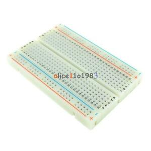 Mini Universal Solderless Breadboard 400 Contacts Tie points Available Al