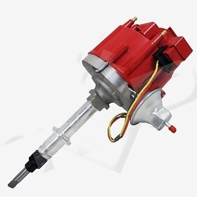 Hei Distributor Amc Jeep Straight 6 Cylinder 199 232 258 Ignition Red Cap