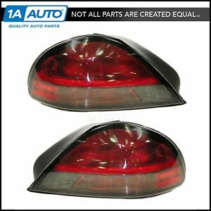 Taillight Taillamp Pair For Pontiac Grand Am Gt 99 05