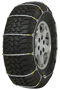 225 75 17 225 75r17 Cobra Jr Cable Tire Chains Snow Traction Suv Light Truck Ice