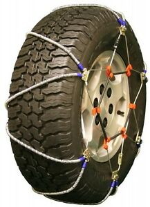 235 75 15 235 75r15 Volt Lt Cable Tire Chains Snow Traction Suv Light Truck Ice