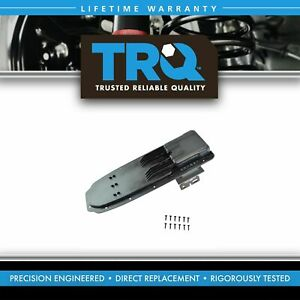 Trq Center Console Lid Arm Rest Medium Gray For Ford Mazda Pickup Truck New