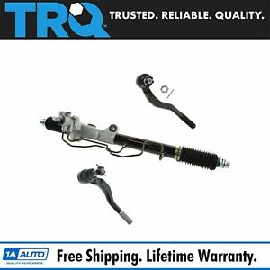 Power Steering Rack Assembly Outer Tie Rod End Kit Set For Toyota Tacoma New