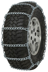 285 75 16 285 75r16 Tire Chains 7mm Link Non Cam Snow Traction Suv Light Truck