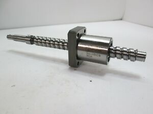 Misumi 20 10c5 Rce Precision Ball Screw 12mm Input Diameter 20mm Shaft Dia