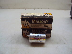 Mallory Fp Capacitor Wp 068 Lot Of 2 New
