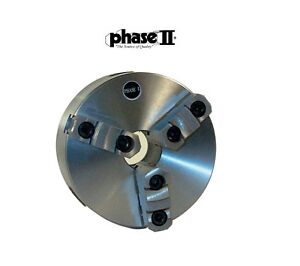 Phase Ii 3 Jaw 6 Lathe Chuck D1 3 Direct Mount 559 100