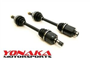 Yonaka Acura Integra Gsr Pair Axles B18c Gs R Abs Civic Si Del Sol 250 Whp Cv