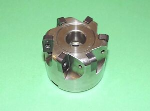 K tool 2 Indexable Multi radius Shell Mill W Inserts rm 2000