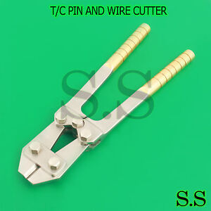 T c Pin And Wire Cutter 9 Surgical Veterinary Instruments