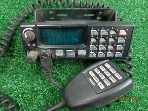 Ge Ericsson Orion M7100 Vhf Mobile Radio Control Head W Dtmf Back Lite Mic a22