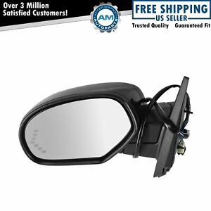 Mirror Power Folding Heated Signal Memory Paint To Match Left Lh For Gm Pickup