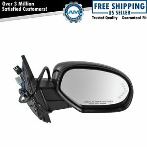 Mirror Power Folding Heated Signal Puddle Memory Paint To Match Right Rh For Gm