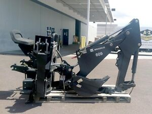 Bradco 609 Backhoe Attachment For Skid Steers price Reduced