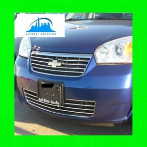2006 2007 Chevy Chevrolet Malibu Chrome Trim For Grill Grille W 5yr Warranty