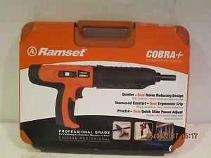 Ramset 16942 Cobra Plus 27 Caliber Semi Auto Powder Actuated Tool f ship nisb