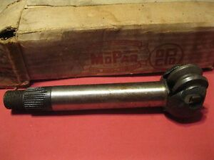 Nos Mopar 1938 Dodge Plymouth Steering Sector Shaft Assembly