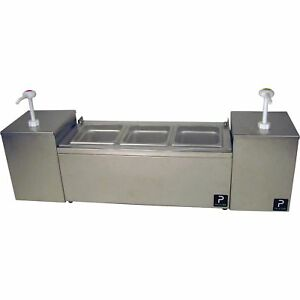 Pro series Condiment Server With Dispensers