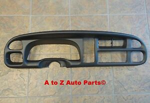 New 1998 2001 Dodge Ram 1500 3500 Instrument Panel Dash Gauge Surround Bezel oem