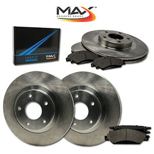 1998 1999 Ford Contour Svt See Desc Oe Replacement Rotors W Metallic Pads F R