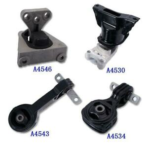 Set 4pcs Engine Motor trans Mount Auto Trans For 2006 2010 Honda Civic 1 8l