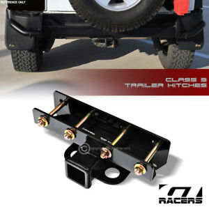 Class 3 Trailer Hitch Receiver Rear Bumper Towing 2 For 2007 2018 Jeep Wrangler