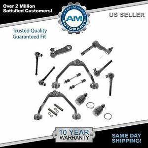 Brand New 14pc Complete Front Suspension Kit For Expedition F 150 Navigator 2wd