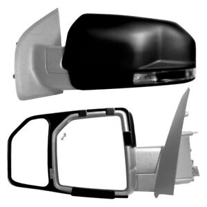 For Ford F 150 15 16 K Source Driver Passenger Side Towing Mirrors Extensions
