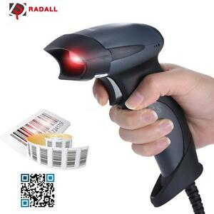 Usb Wired Barcode Scanner Bar Code Pos Reader Handheld Pos System express S0j3