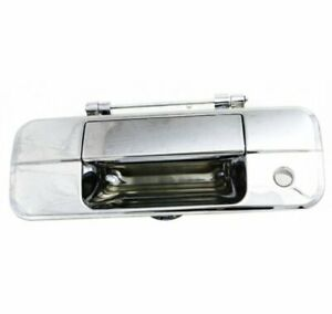 Tailgate Handle For 2007 08 09 2010 2011 2012 2013 Toyota Tundra Chrome Plastic