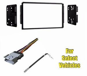 Double Din Car Stereo Radio Kit Combo For Some 2004 2005 2006 Kia Sorento Ex Lx