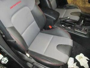 07 08 09 Mazda 3 R Front Seat Bucket Cloth And Leather Air Bag Manual Speed3