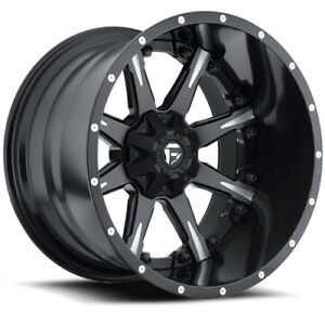 20 X14 Fuel Offroad Nutz D251 Black 6x135 6x5 5 76 Et D25120409845 Rims Wheels