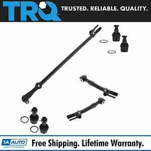 Drag Link Tie Rod Ends Ball Joints Kit Set Of 7 For Ford F250 F350 Super Duty