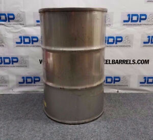 55 Gallon Stainless Steel Drum Closed Top Sku 93
