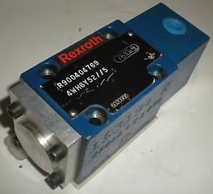 Bosch Rexroth R900404769 4wh6y52 5 Directional Control Valve
