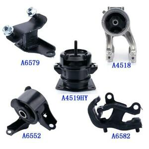 Fit 1999 2004 Honda Odyssey 3 5l Engine Motor Trans Mount Set 5pcs