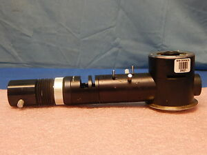 Leitz 0 8x Vertical Polarization Microscope Pol Illuminator