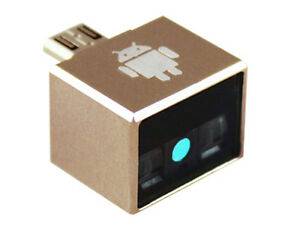 Mini Micro Usb Barcode Scanner For Windows By Software Trigger Or Auto Sensing
