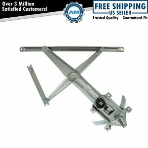 Front Manual Window Regulator Left Hand Lh Driver Side For Colorado Gmc Canyon